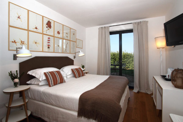 Locanda Rosssa Tuscany-Superior room and garden